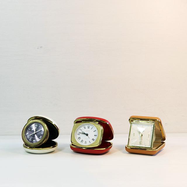【V-145】トラベル時計3種
