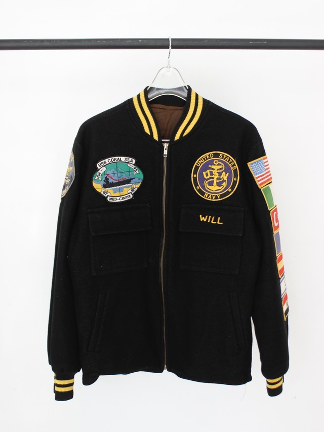 Used 80's Flight Jacket
