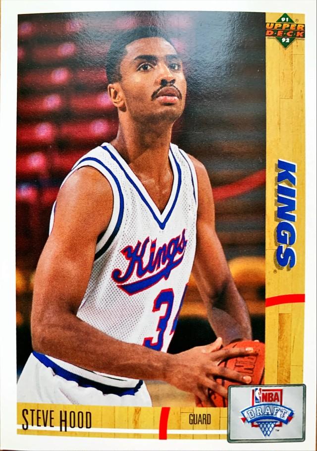 NBAカード 91-92UPPERDECK Steve Hood #21 KINGS