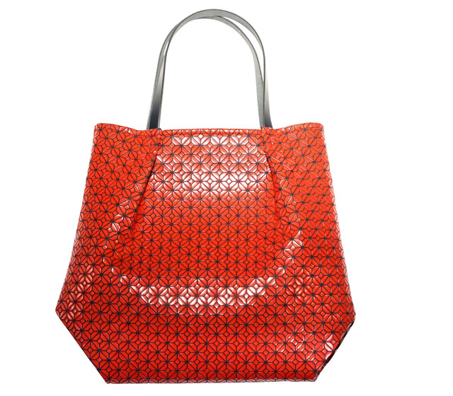 COMMON tote Bag / Shu red