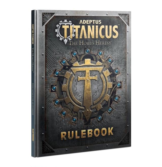 ADEPTUS TITANICUS RULEBOOK (ENG)【ウォーハンマー部会員価格】