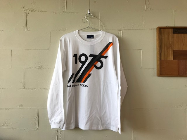 Project L/S Tee  WHITE // 1975tokyo