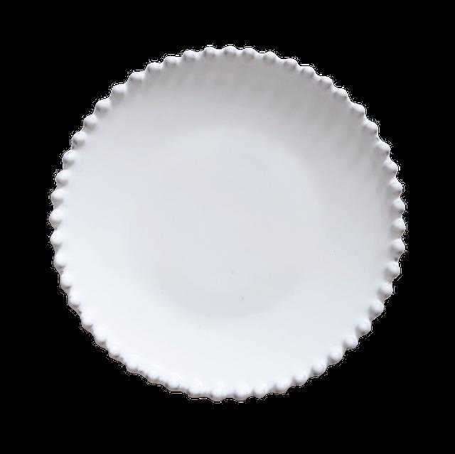 パールホワイト サラダプレート
