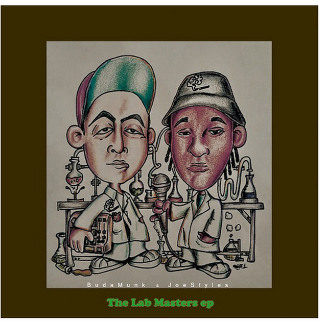 【残りわずか/CD】Budamunk & Joe Styles - The Lab Masters EP