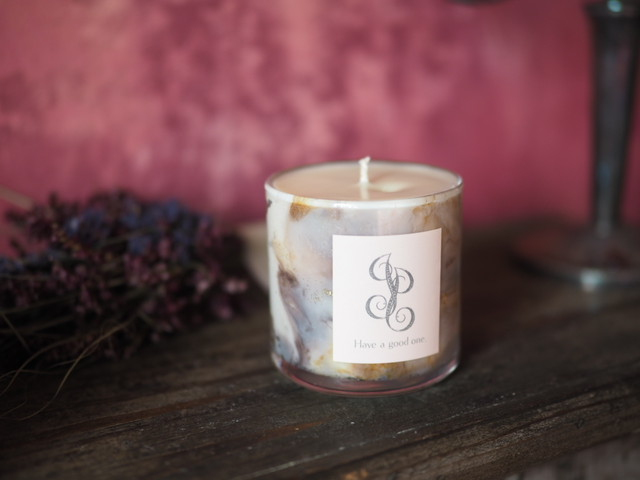 Marble Aroma Candle 2