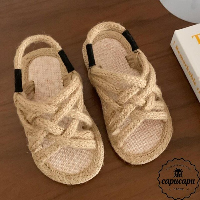 «sold out» rope sandals ロープサンダル