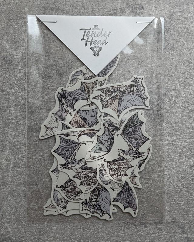 【TenderHead】flying Bat -シール-