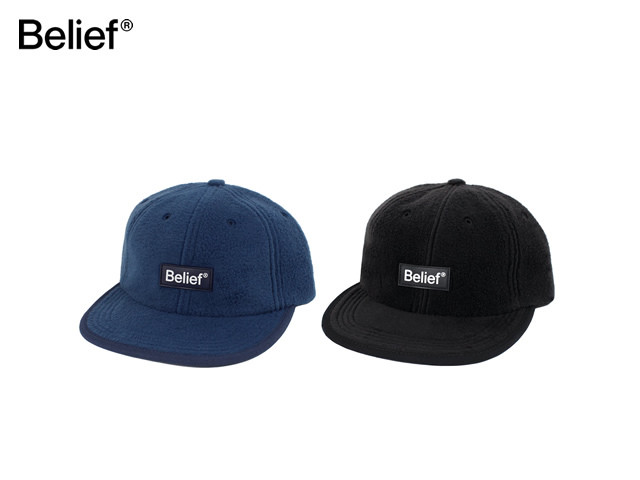 Belief NYC|Fleece Logo 6 Panel