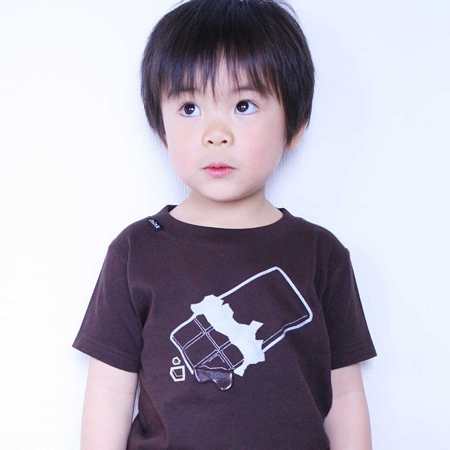 KIDS chocolate Tシャツ