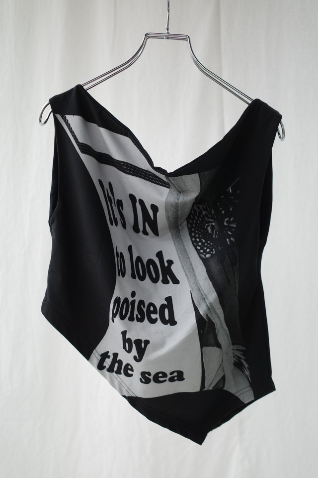 【elliss】BY THE SEA COWL TOP