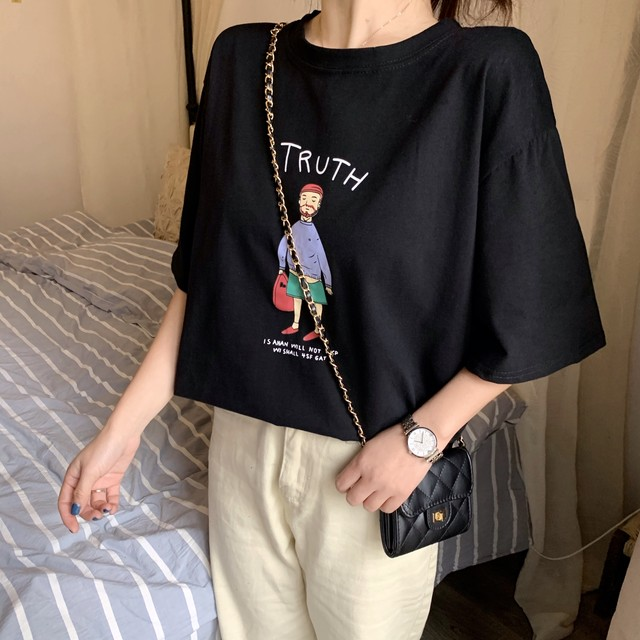 UncleプリントTシャツ