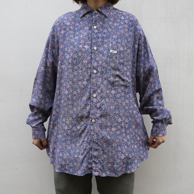 made in USA GUESS pattern shirt