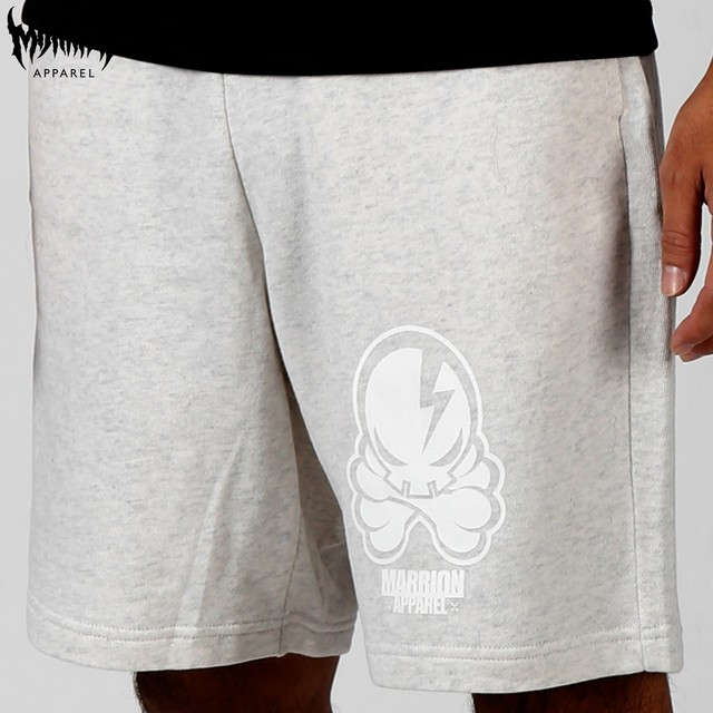 OCTOPUS SKULL SWEAT SHORTS (oatmeal)
