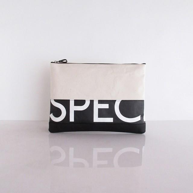 Clutch Bag / White  CLW-0006