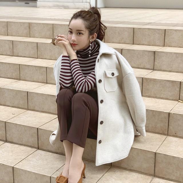 【予約】cpo jacket coat / beige 10/11 21:00~ 再販 (ご注文から2~3週間での配送)