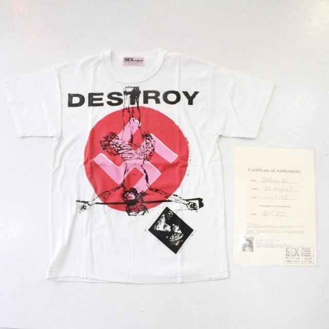 【SEX Original】Destroy Tee