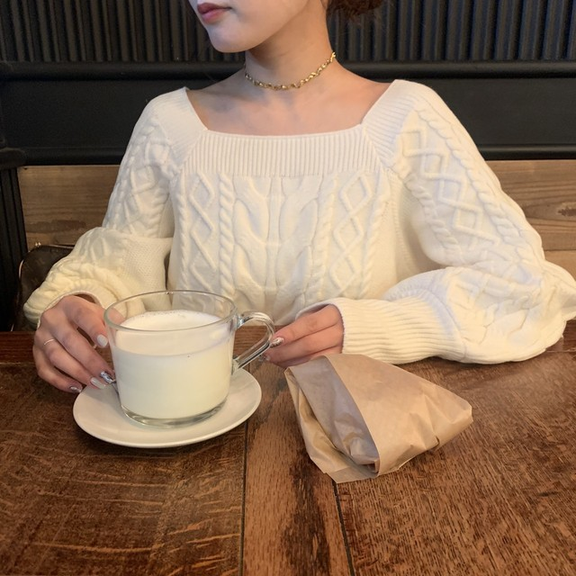 Square muse knit
