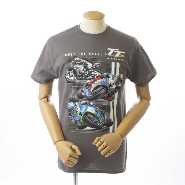 TT Only The Braave Tee Charcoal