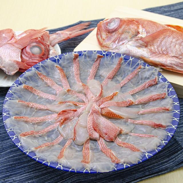 【1日10食限定!】(0149) 金目鯛のしゃぶしゃぶ鍋と金目鯛セット 【産地千葉県館山より】