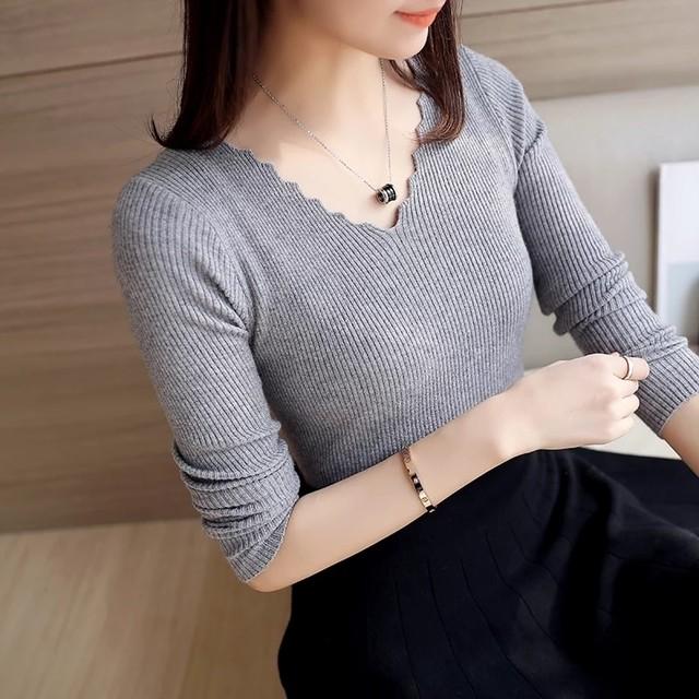 Wave Cut Sweaterm♥