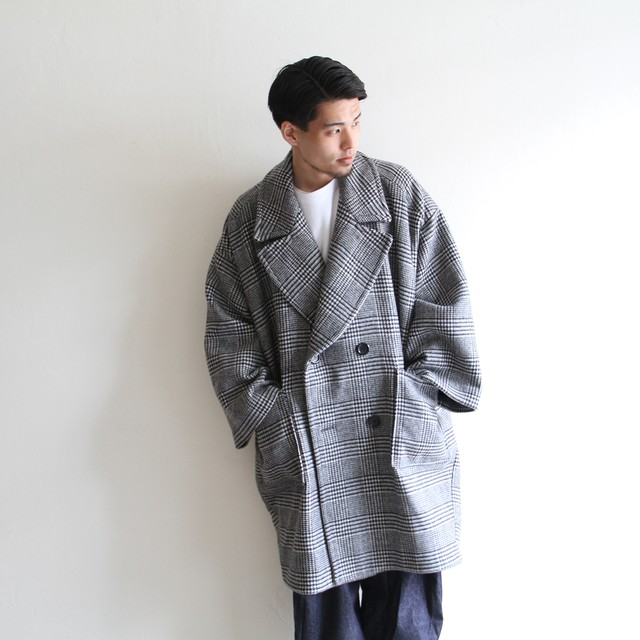 is-ness × UNUSED  【 mens 】special technical monster coat