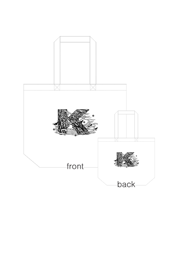 K&K canvas bag