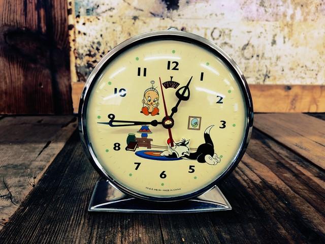 品番1188 置き時計 Looney Tunes ルーニー・ テューンズ トゥイーティー シルベスター