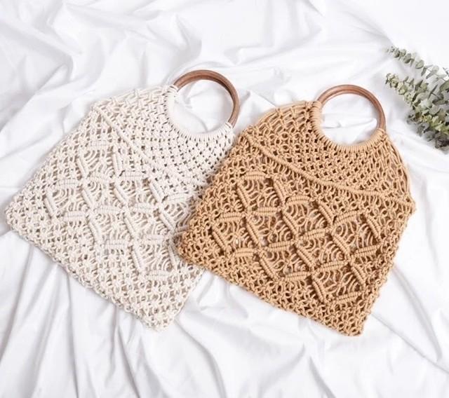 ◆予約◆mesh handle bag