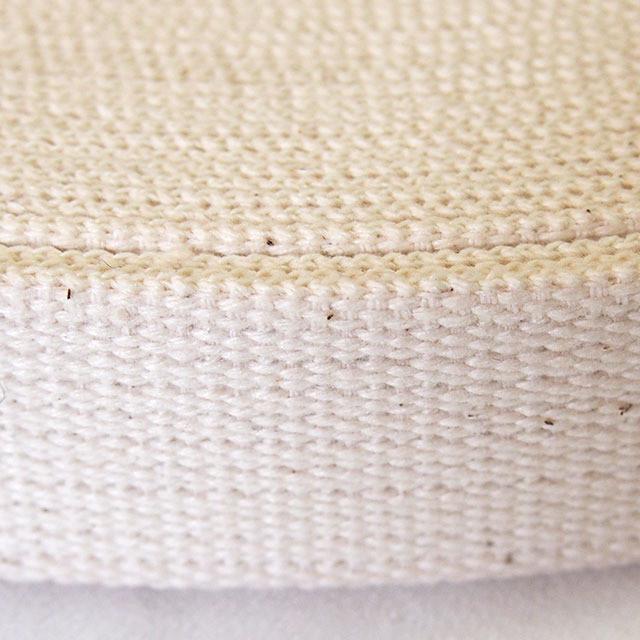 綿テープ コットン  厚地 生成 30mm幅 1反 50m