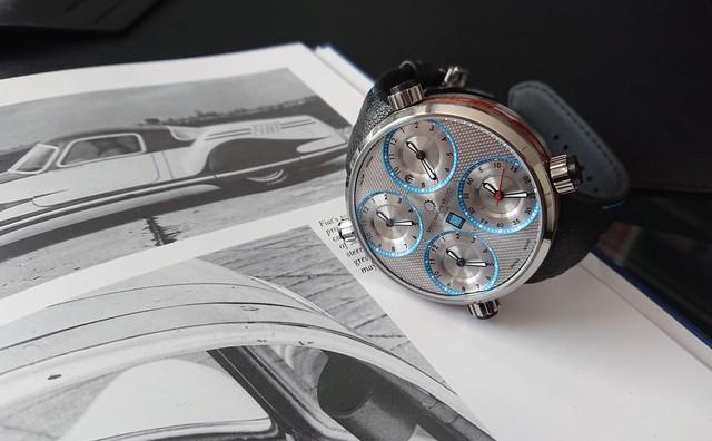 世界50本限定品【MECCANICHE VELOCI】メカニケ・ヴェローチ  ナルディ  NARDI Edition  /スイスメイド腕時計