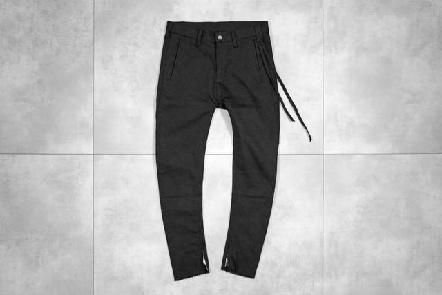 ASKYY / Easy slacks / BLK