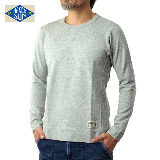 NS002005(MINI-URAKE L/S)GRAY