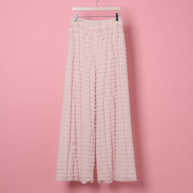 VANNIE FRILL PANTS(VN17005)