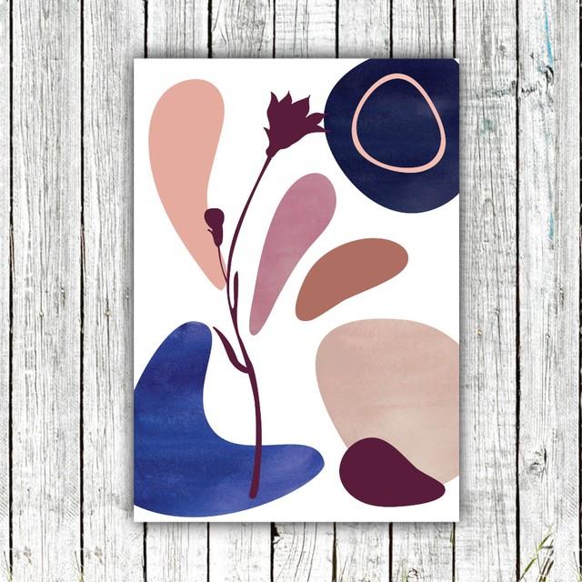 Boho Style Abstract Art 03 / 【アートポスター専門店 Aroma of Paris】[SD-000669]