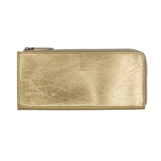 TIN BREATH Small purse Antique gold