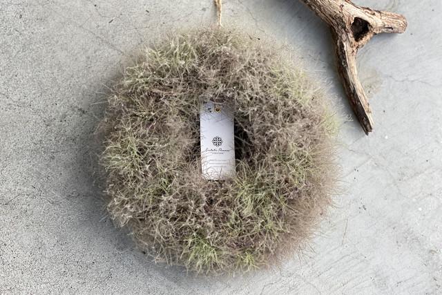 SMOKE TREE WREATH スモークツリーリース01【Medium】