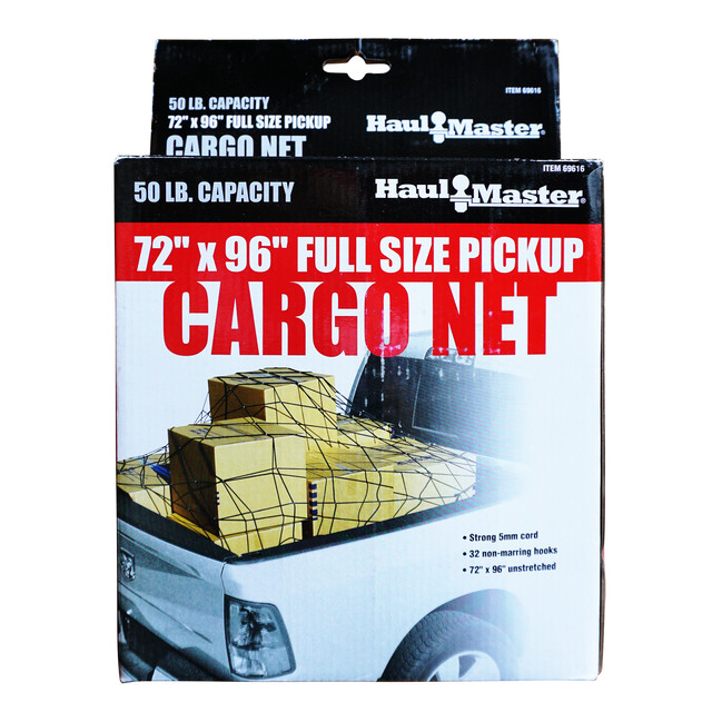 "72""×96"" FULL SIZE PICKUP CARGO NET"