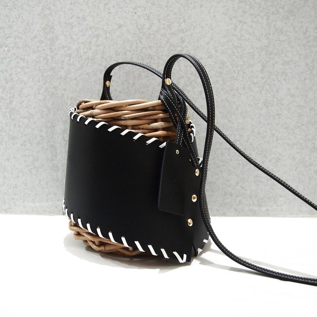 [ 20SS Collection ]  Protect stitch Basket #Black