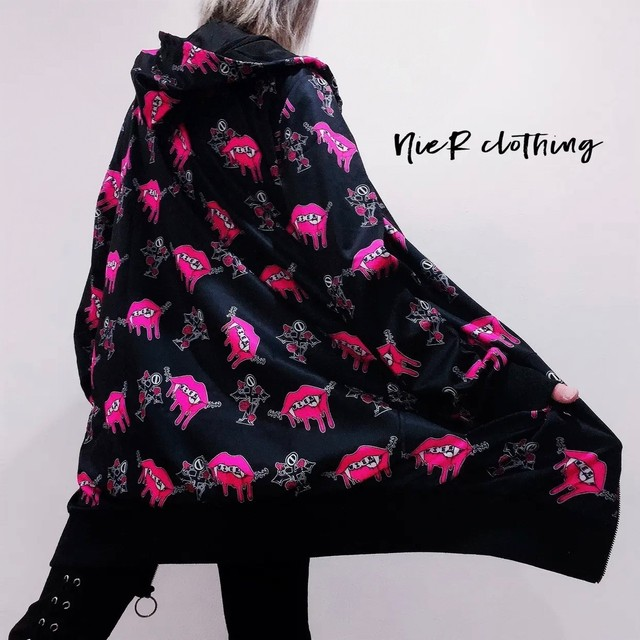 NieR LIPS ZIP PARKA