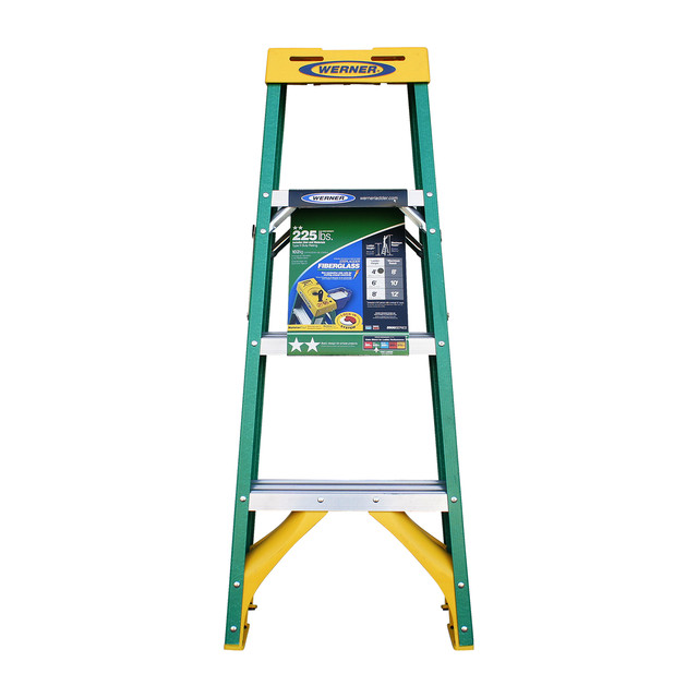 WERNER Ladder  225 lbs/YELLOW