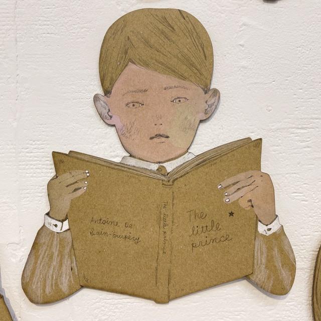 "樋口佳絵|「library ""The little prince""」"