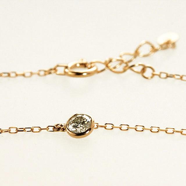 3コのダイヤモンドペンダント  K18 ホワイトゴールドxイエローゴールド