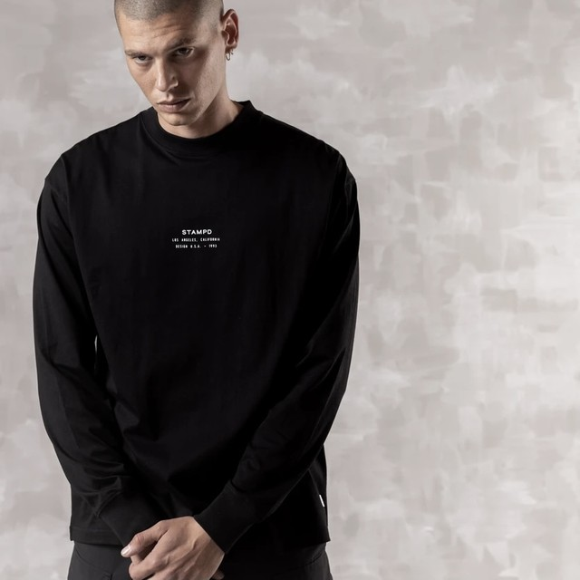 STAMPD / STC LOGO LONG SLEEVE TEE