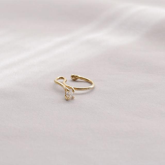 E Drop / Ear - Silver (pair)