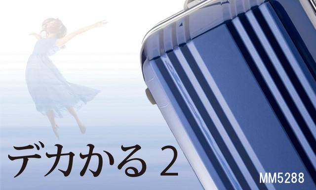 【3〜4泊用】デカかる2 MM-5288 /49L