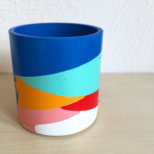 "EMILY MARLIN ""Royal Poured Pot"""