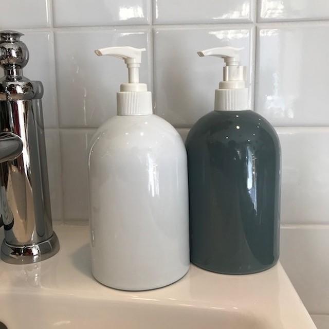 """ Enamel soap bottle / ホーローソープボトル"""