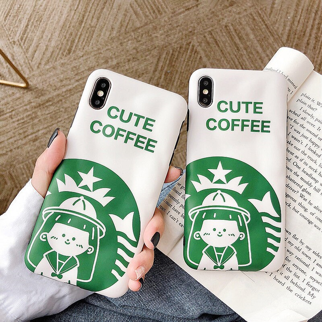 【オーダー商品】Coffee girl iphone case