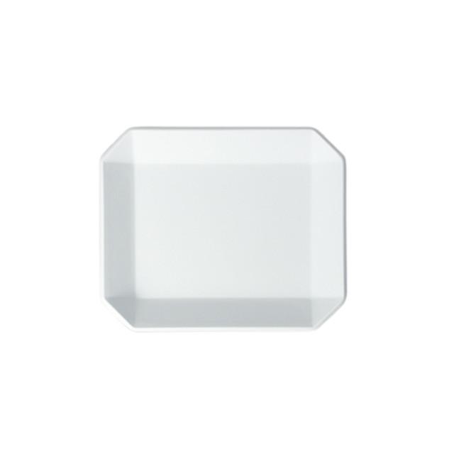 1616 / arita japan TY Square Plate 90 Gray