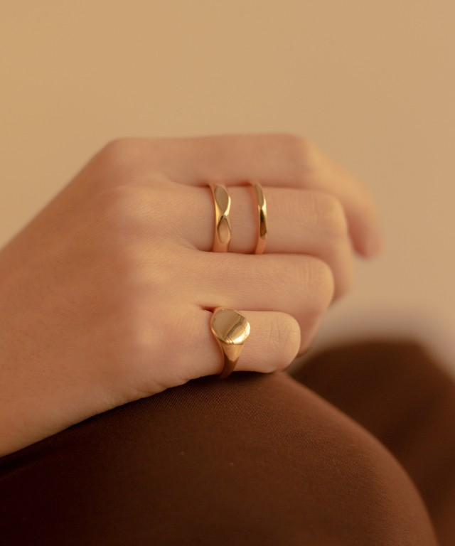 Double & Stamp Rings 2 set